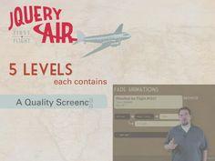 jQuery Air: First Flight - Code School