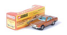 factory trial colour Corgi Toys MB SL