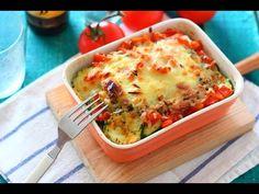 Comparte Recetas - Pastel de atún y verduras, receta fácil paso a paso