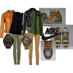 Nike Dunk Sky High sneaker boot ( outfit idea) #nike #scarfs #fall  I LOOOOVE THIS SO MUCH ! ALL OF THIS !