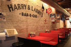 I imagine Justin's BBQ joint to look like this inside. We will have a restaurant one day!