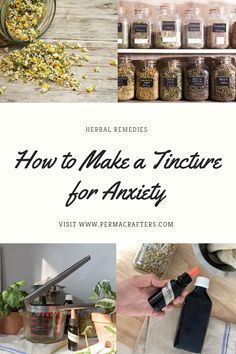 Natural Sleep Remedies, Cold Home Remedies, Natural Health Remedies, Herbal Remedies, Herbal Tinctures, Herbalism, Natural Treatment For Anxiety, Anxiety Treatment, Best Herbs For Anxiety