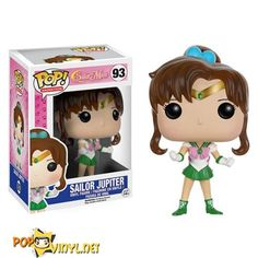 This is a Funko Sailor Moon Jupiter POP Vinyl Figure. Standing inches tall, the Sailor Moon Jupiter POP Vinyl figure is super cute! It's great to see that the Sailor Moon characters finally got t Sailor Moon Jupiter, Sailor Chibi Moon, Sailor Uranus, Sailor Neptune, Sailor Moon Funko, Pop Sailor Moon, Sailor Mars, Sailor Mercury, Harry Potter Hermione