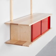 Single Credenza by Henry Julier, Matter-Made Shelving Systems, Mid Century Modern Decor, Mid Century House, Mid Century Furniture, Credenza, Contemporary Design, Home Accessories, Mid-century Modern, Furniture Design