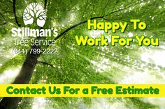 Happy To Work For You / Contact Us For a Free Estimate / (941) 799-222...   #BradentonTreeServices  #SarasotaTreeServices