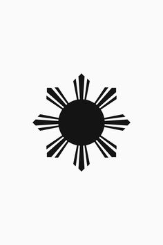 Flag of the Republic of the Philippines. The symbol is a sun. Philippines Tattoo, Filipino Culture, Filipino Tattoos, Flags Of The World, Symbolic Tattoos, American Flag, Tatting, Symbols, Embroidery
