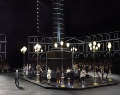 Only Chanel can do that: reproduce the Place Vendôme in Le Grand Palais in Paris.