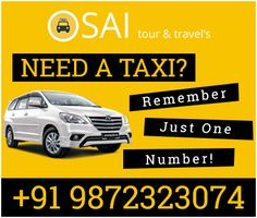 We are highly professional #Taxi Service Providers in #Chandigarh Visit: http://www.saitourtravels.com/services