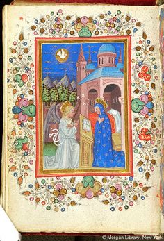 Virgin Mary: Annunciation | Book of Hours | Italy, possibly the Veneto | ca. 1425-1450 | The Morgan Library & Museum