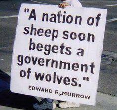 ~ Edward R. Murrow