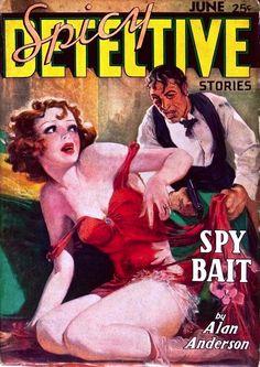 Spicy Detective Stories - June 1936