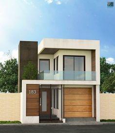 Analizaremos dos modelos de fachadas de casas modernas que utilizan elementos de diseño contemporáneos como grandes cristales, madera y el uso de armoniosas estructuras de hormigón, descubre detall… #modelosdecasasdemadera #modelosdecasasmodernas