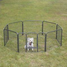 Dog Playpen   Small Sized Portable Pet Tent Playpen Dog/Cat Kennel 8 Panels    Green | Dog Playpen | Pinterest | Dog Playpen, Playpen And Dog