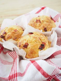 Lunchbox Ham, Cheese and Vegetable Muffins
