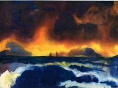 Image result for emil nolde seascape