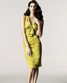 Chartreuse - Daltry's dress and Ben's tie should be something like this color. I know y'all can pull it off!! :D
