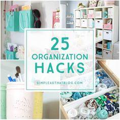 25 Organization Hacks