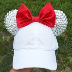 Minnie Mouse Baseball Hat