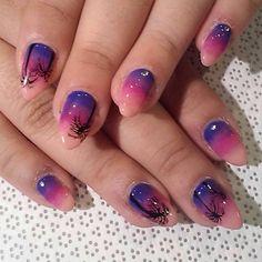 @nailsbymii #MiMi #handpainted #gelnail #nailart #vanityprojects  (at Vanity Projects)