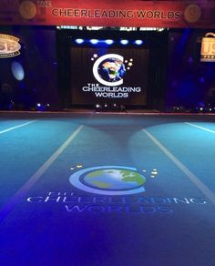 The Cheerleading Worlds 2014 - Stage Mat