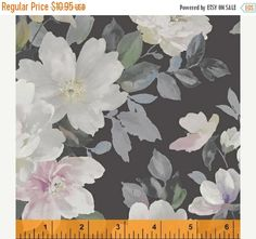 Anniversary Sale Primrose~Large Flowers~Cotton Fabric by Windham~Fast Shipping F714