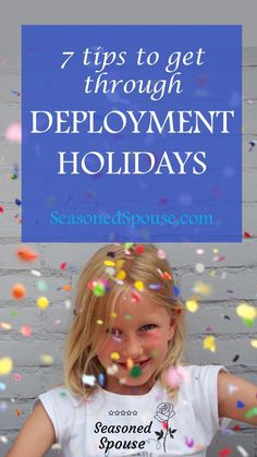 Here's what every milspouse needs to know about holidays during deployment, especially if you have kids.