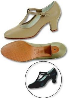 "Women's Tan ""Tee Strap"" Dance Shoes « Shoe Adds for your Closet"
