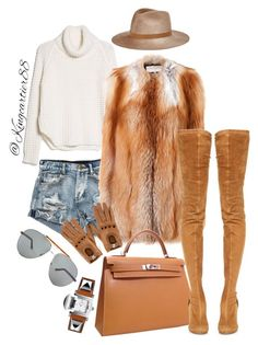 """""""WINTER TIME SLAY"""" by jusgram88 ❤ liked on Polyvore featuring MANGO, Eugenia Kim, Tom Ford, Maison Margiela, Emilio Pucci and Hermès"""