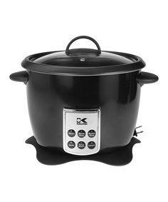Loving this Black Digital Rice Cooker on #zulily! #zulilyfinds