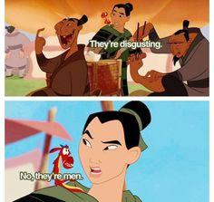Mulan. hahahaha:)