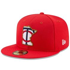4a337071 Minnesota Twins New Era Youth 2017 Players Weekend 59FIFTY Fitted Hat - Red  - $31.99 Fitted