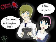 #Pewdart (Corpse Party): Pee in the Bucket