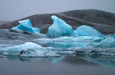 Icebergs at the Jokulsarlon Lagoon in Iceland Iceland, Landscape Photography, Outdoor, Ice Land, Outdoors, Scenery Photography, Landscape Photos, Outdoor Games, Outdoor Living