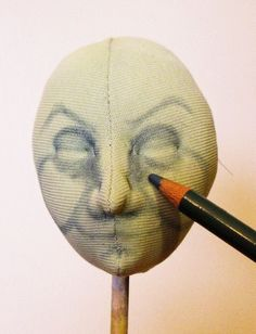 Witch Crafts: DOLL FACE TUTORIAL, part 2 by Arley Berryhill