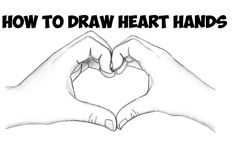 Today I'll show you how to draw make heart hands for Valentine's Day. You will learn how to draw two hands that are cupped together to form a heart to represent love on Valentine's Day. We will guide you through the steps here as we try to make it as easy as possible for you. Happy Drawing!