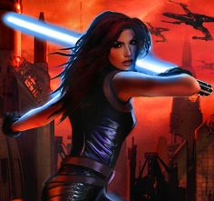 """Mara Jade Skywalker / 6 Characters Who Might Star In The New """"Star Wars: Episode VII"""" (via BuzzFeed)"""