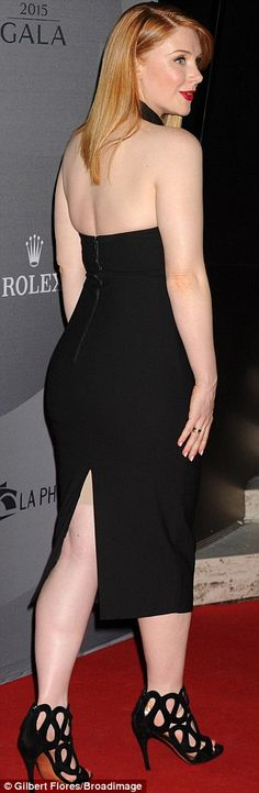 Rearly impressive: Ron Howard's daughter was looking fantastic from every angle...