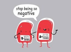 stop being so negative