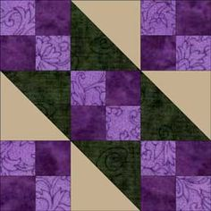 jacobs ladder quilt block - Google Search