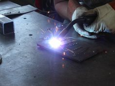 "This is a basic guide on how to weld using a metal inert gas (MIG) welder. MIG welding is the awesome process of using electricity to melt and join pieces of metal together. MIG welding is sometimes referred to as the ""hot glue gun"" of the welding world and is generally regarded as one of the easiest type of welding to learn.**This Instructable is not intended to be THE defin..."