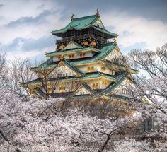 9. Castelul Osaka, Japonia (inițial 大坂城, actualmente 大阪城 Ōsaka-jō?) este un castel situat în Japonia, în orașul Osaka, sectorul Chuo. Numit inițial Ozakajo, în secolul XVI, în perioada Azuchi-Momoyama, castelul a jucat un rol important în unificarea politică a Japoniei. Astăzi Castelul Osaka este deschis publicului și este unul din cele mai cunoscute castele ale Japoniei.