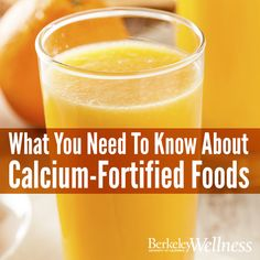 There are plenty of #calcium -fortified foods on the market, from orange juice, to cereal, to bread. But how exactly do they work? Is drinking calcium-fortified OJ the same as drinking regular OJ and taking a calcium supplement? Here's what you need to know: http://www.berkeleywellness.com/healthy-eating/nutrition/article/calcium-fortified-foods-what-you-should-know/?ap=2012 #health #food #diet #nutrition