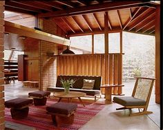 """The 2009 movie """"A Single Man"""" starring Colin Firth was filmed in Glendale at this midcentury modern house built by architect John Lautner in John Lautner, Mid-century Interior, Interior Architecture, Interior And Exterior, Tom Ford Interior, Midcentury Modern, Mid Century House, Mid Century Design, Interior Inspiration"""