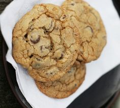 Best ever chocolate chip cookies from Savory Sweet Life