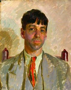 Sir Stanley Spencer, 1928 by Henry Lamb (1883-1960)