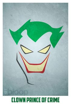The Joker /// Comic Book Art Created by Andres Romero (a.k.a. bloOp on DeviantArt)