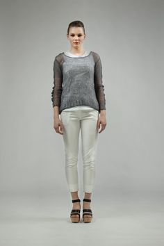 Taylor 'Incision' Collection, Summer 13/14   www.taylorboutique.co.nz Taylor - Fling Cashmere Sweater