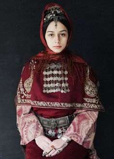 Armenian Woman - Photographed by Ilya Vartanian