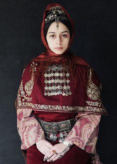 Armenian Woman - Photographed by Ilya Vartanian