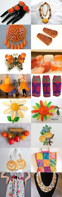 orange you having a great Summer by cindy cooley on Etsy--Pinned with TreasuryPin.com